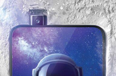 Das Vivo Nex bietet eine Nur-Display-Vorderseite. Die Frontkamera poppt bei Bedarf heraus.