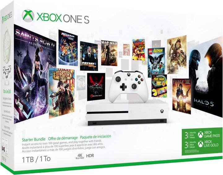 Die Xbox One S bekommt ihr unter anderem bei Euronics in feinen Starter-Bundles. (Foto: Microsoft)