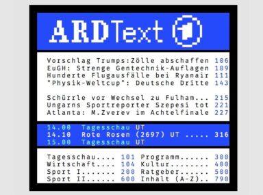 ARD-Text Teletext Videotext