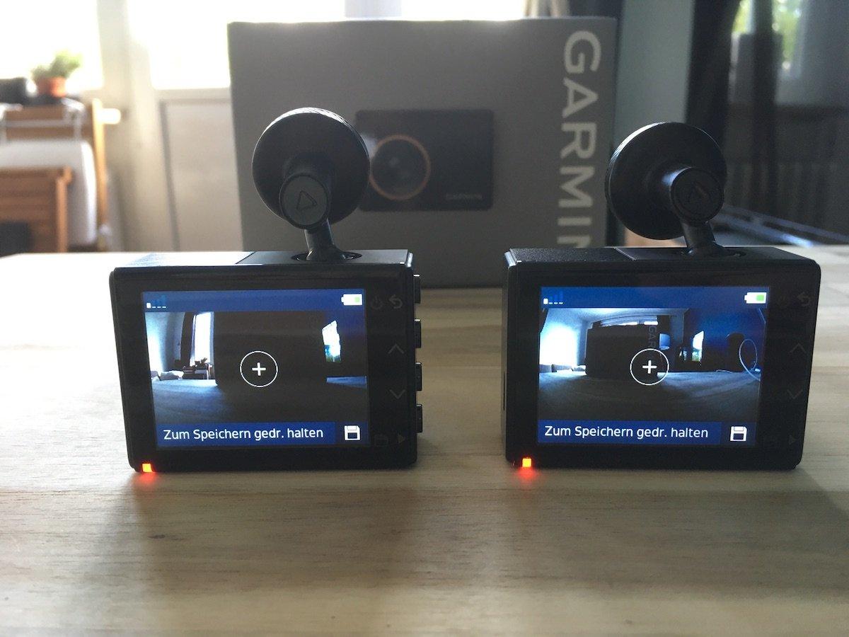 Garmin Dashcam 65 und 55 Aufnahme