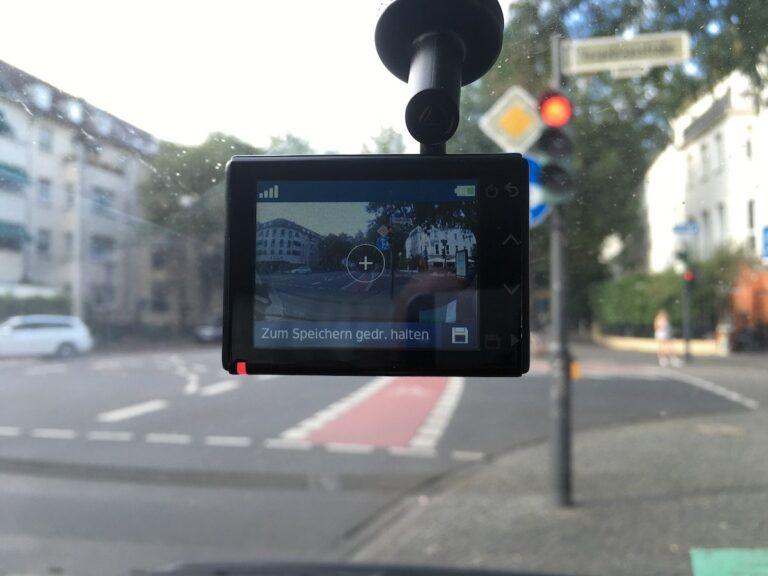 Garmin Dashcam 55 im Einsatz