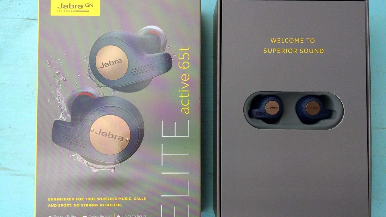 Jabra Bluetooth Headset Elite active 65t ausprobiert