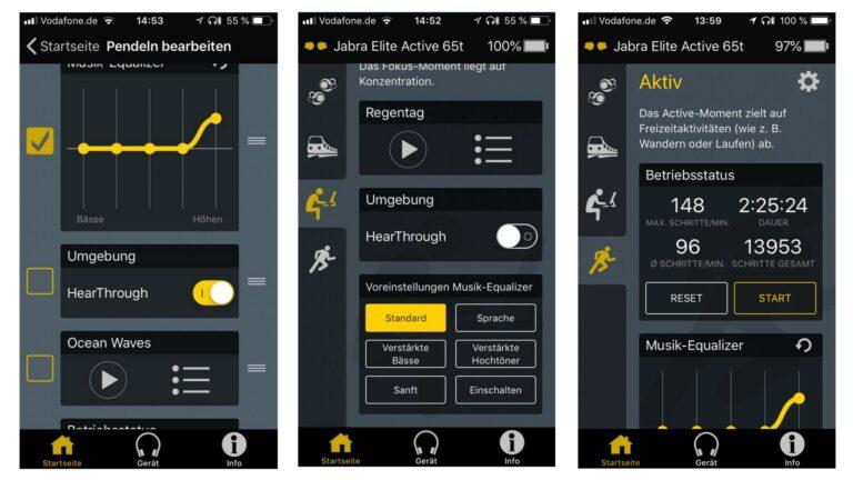 Die App: Jabra Bluetooth Headset Elite active 65t