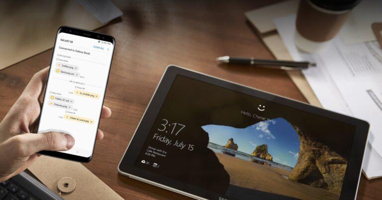 Samsung Flow ermöglicht immerhin einen Datenaustausch. (Foto: Samsung)