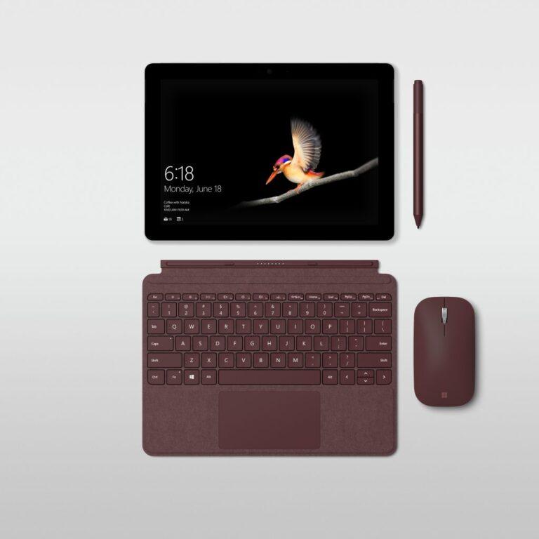 Stylisch - wie gewohnt von der Surface-Reihe. (Foto: Microsoft)