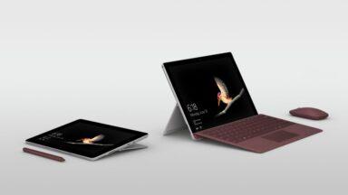 Das Surface Go ist Tablet und Notebook. (Foto: Microsoft)