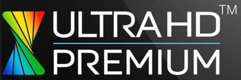 Beherrscht euer Fernseher bereits HDR? Ein Hinweis könnte ein Ultra HD Premium-Logo sein. Aber es existieren viele weitere Bezeichnungen - meist wird ein HDR explizit erwähnt. (Foto: UHD Alliance)