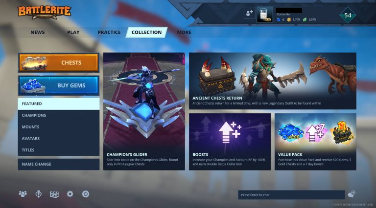 Battlerite-in-game-shop