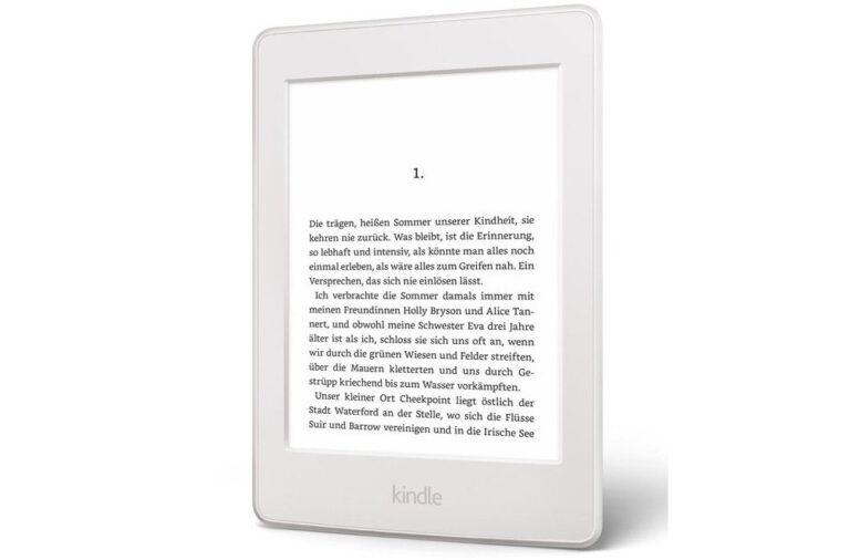 Wie Papier und mit Hintergrundbeleuchtung: der Amazon Kindle Paperwhite