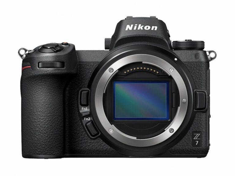 Großer Vollformatsensor im Gehäuse der Nikon Z7. Faustregel: Je größer der Sensor, desto mehr Details kann die Kamera einfangen.