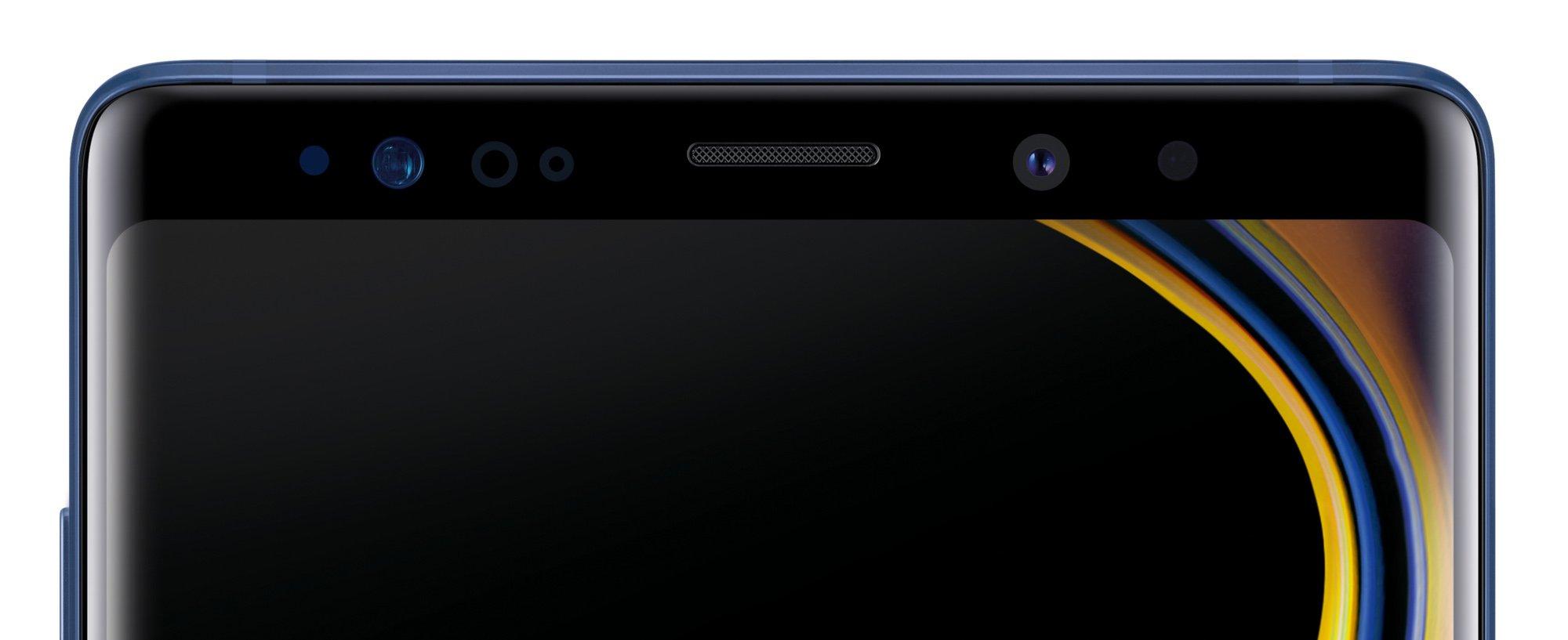 Auch ohne Notch hat das Samsung Galaxy Note 9 schön schmale Ränder (Bild: Samsung)