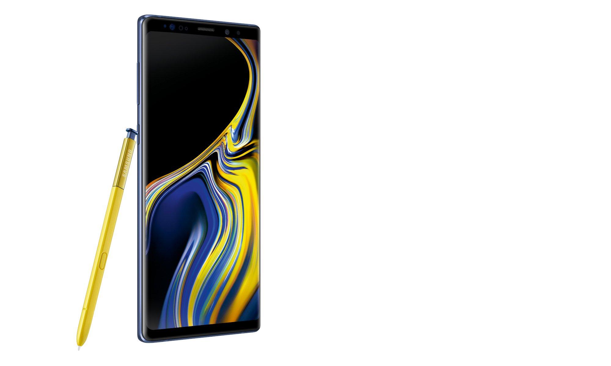 Auch Smartphones wie das Samsung Galaxy Note 9 verfügen über ein OLED-Display (Bild: Samsung)