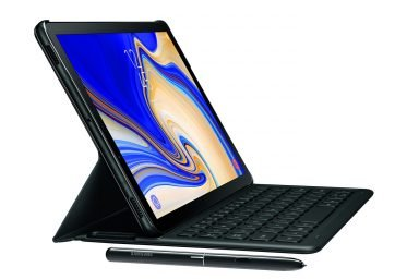 Das Galaxy Tab S4 möchte auch ein Laptop sein. Und kann den Desktop dank DeX ersetzen. (Foto: Samsung)