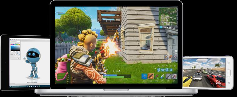 Online-Games dürft ihr natürlich auch verwenden. (Foto: Blade)