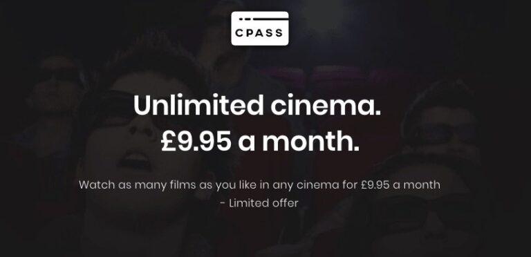 Geplante Expansion nach UK – und danach Deutschland? Moviepass-Ableger cPass