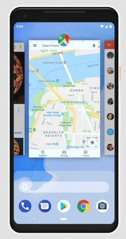 Schneller zwischen Apps wechseln. (Foto: Google)
