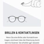 Brillen und Kontaktlinsen können Probleme bereiten. (Foto: Screenshot)