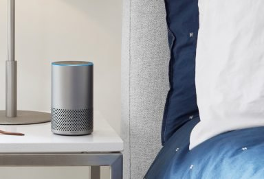 Amazon Echo silber