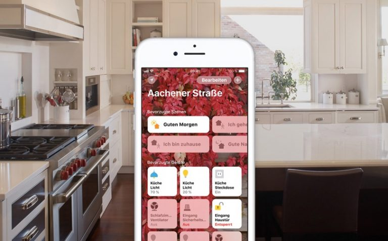 Apple Home: Das iPhone wird zur Schaltzentrale.