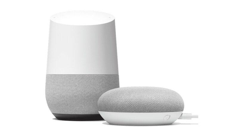 Google Home setzt vor allem auf eine Sprachsteuerung, etwa in den Google-Home-Lautsprechern, der mit dem Sprachassistenten ausgerüstet ist.