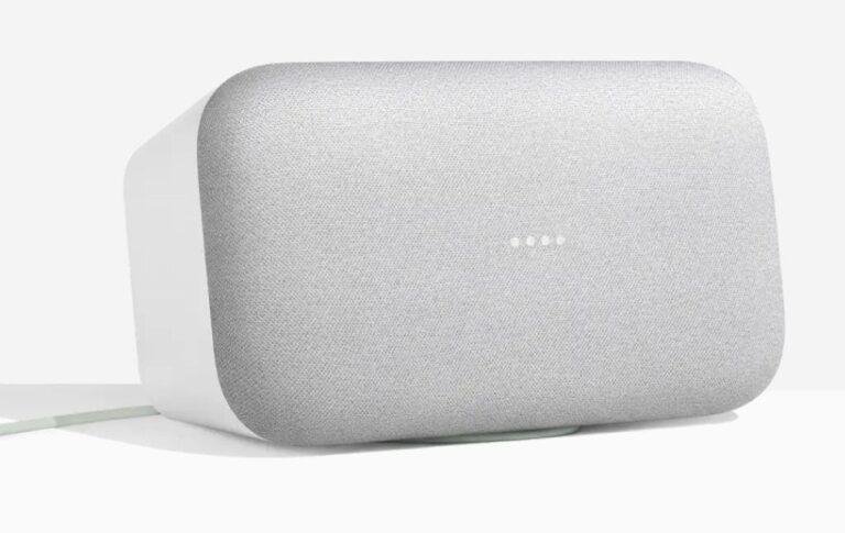 Smarthome mit Sprachsteuerung und Wumms: Der smarte Lautsprecher Google Home Max