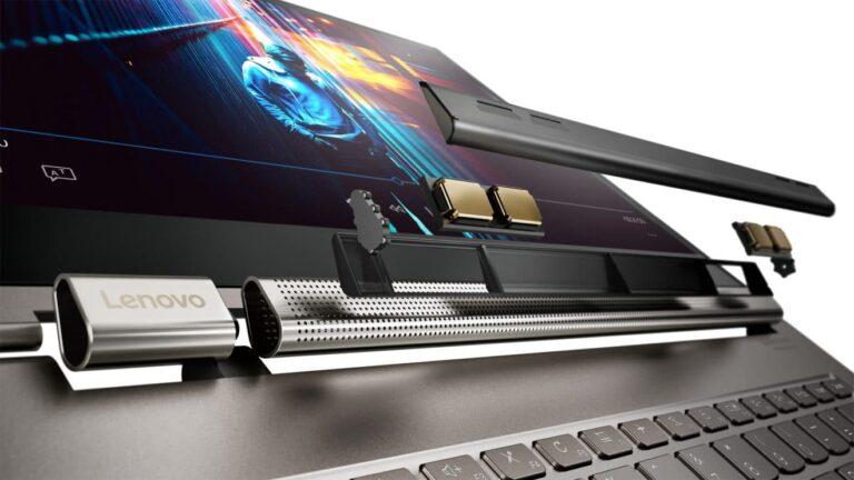 Das Yoga C930 verfügt über Alexa. (Foto: Lenovo)