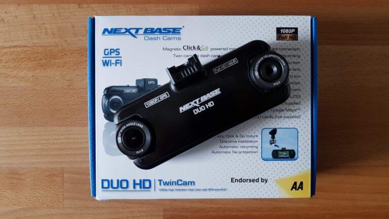 Die Duo HD ist eine ungewöhnliche Dashcam. (Foto: Sven Wernicke)
