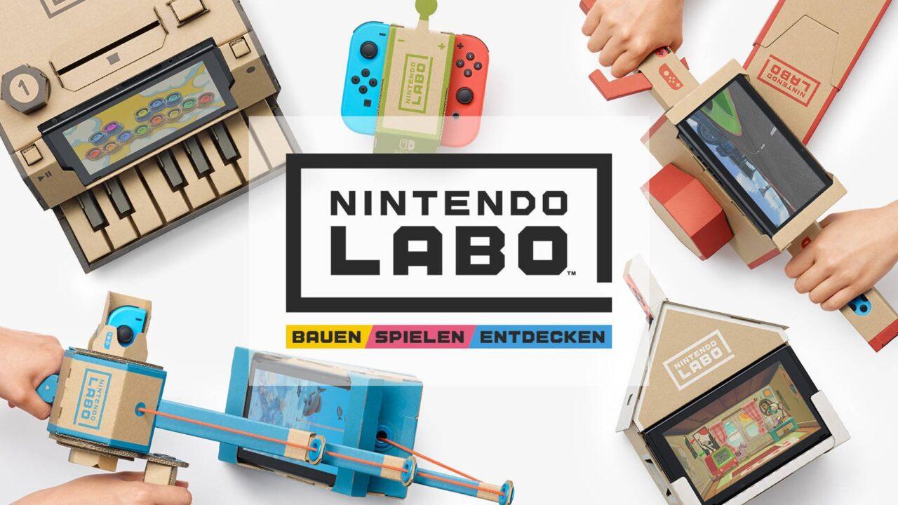 Nintendo Labo: Wie passen Pappe und Videospiele zusammen?