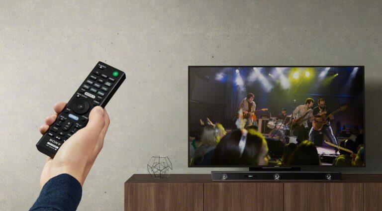 Die Sony Soundbar HT-ZF9 erhält bald ein Alexa-Update. (Foto: Sony)