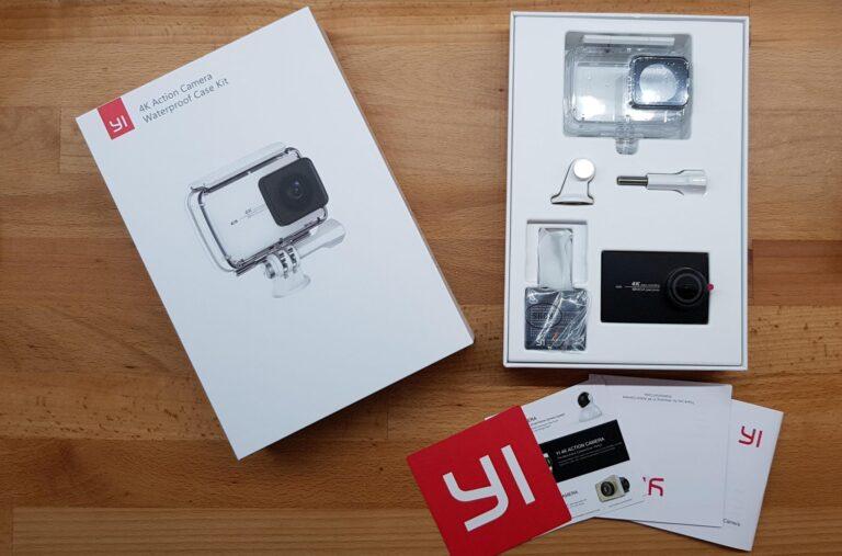 Die Yi 4K Action Cam bietet im Grunde fast identische Features im Vergleich zur Yi 4K+ Action Cam. (Foto: Sven Wernicke)