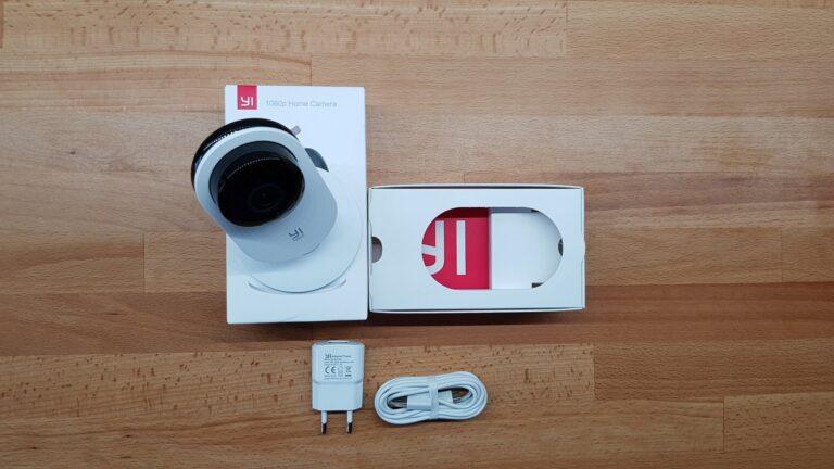 Die Yi 1080p Home Camera kommt in einer stylischen Packung. (Foto: Sven Wernicke)