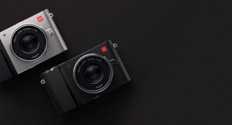 Die M1 ist die bisher einzige spiegellose Kamera des Herstellers. (Foto: Yi Technology)
