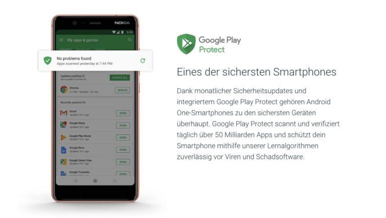 Monatliche Sicherheitsupdates verspricht Google mit Android One