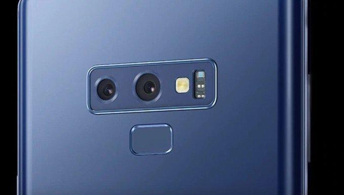 Galaxy Note 9 Dualkamera mit 2x optischem Zoom