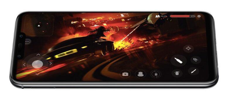 Angenehmeres Spielen als mit einem kleinen Smartphone. Hier das Volldisplay-Smartphone Huawei Mate 20 Lite mit 6,3 Zoll