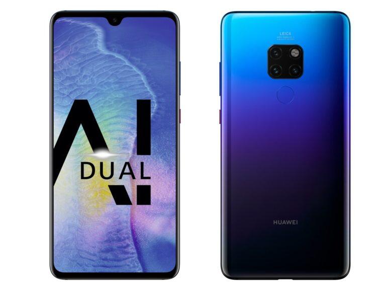 Huawei Mate 20: Kleinere Notch, ansonsten fast identisch