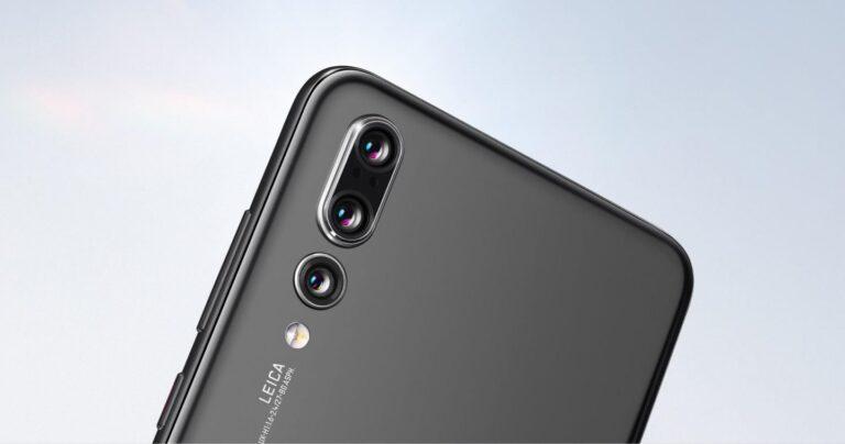 Triplekamera im Huawei P20 Pro