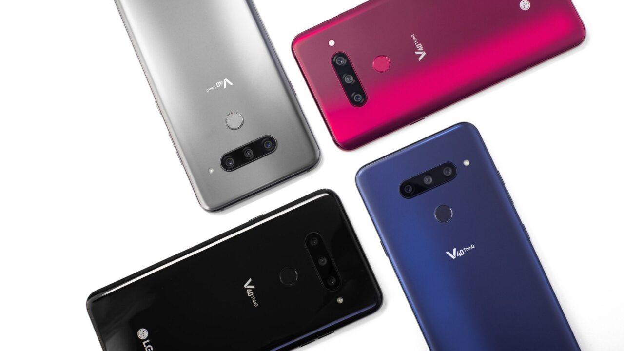 LG V40 ThinQ mit fünf Kameras und interessanten Effekten
