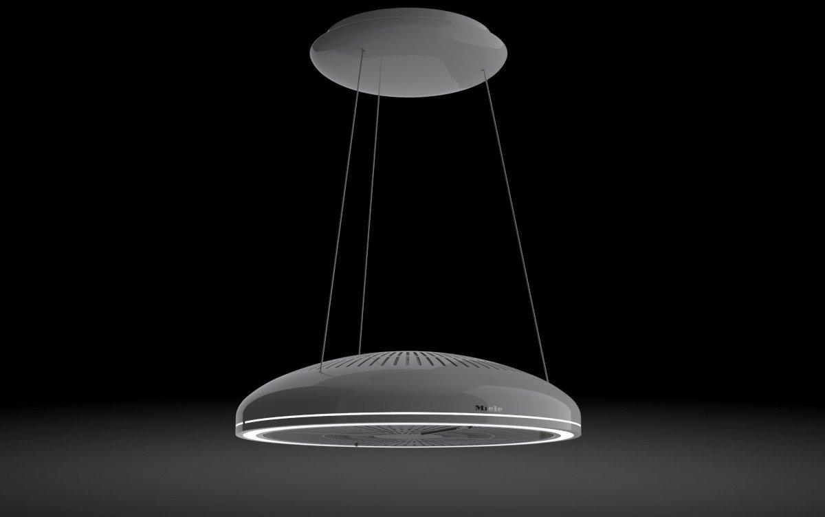 Die Dunstabzugshaube Miele Aura 3.0 bietet auch ein schönes Design (Bild: Miele)
