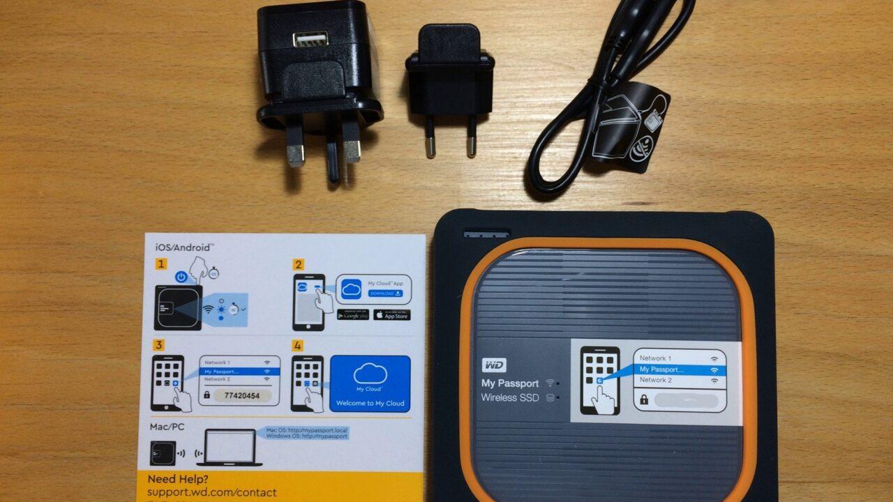 Festplatte, die alles kann: WD My Passport Wireless SSD (1TB) ausprobiert