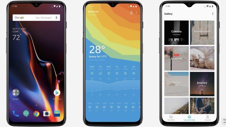 OnePlus 6T Oxygen OS