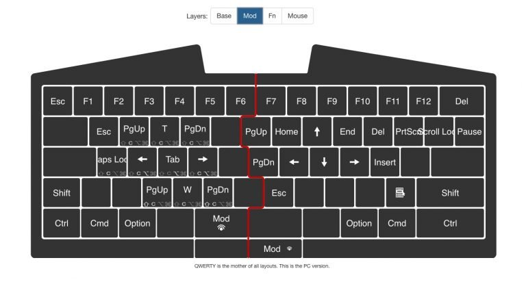 Ultimate Hacking Keyboard Eben 2