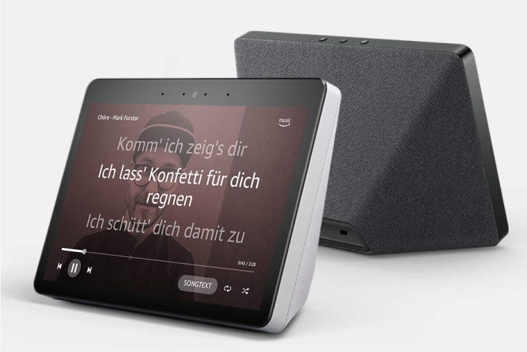 Echo Show ist auch ein Smart Speaker. (Foto: Amazon)