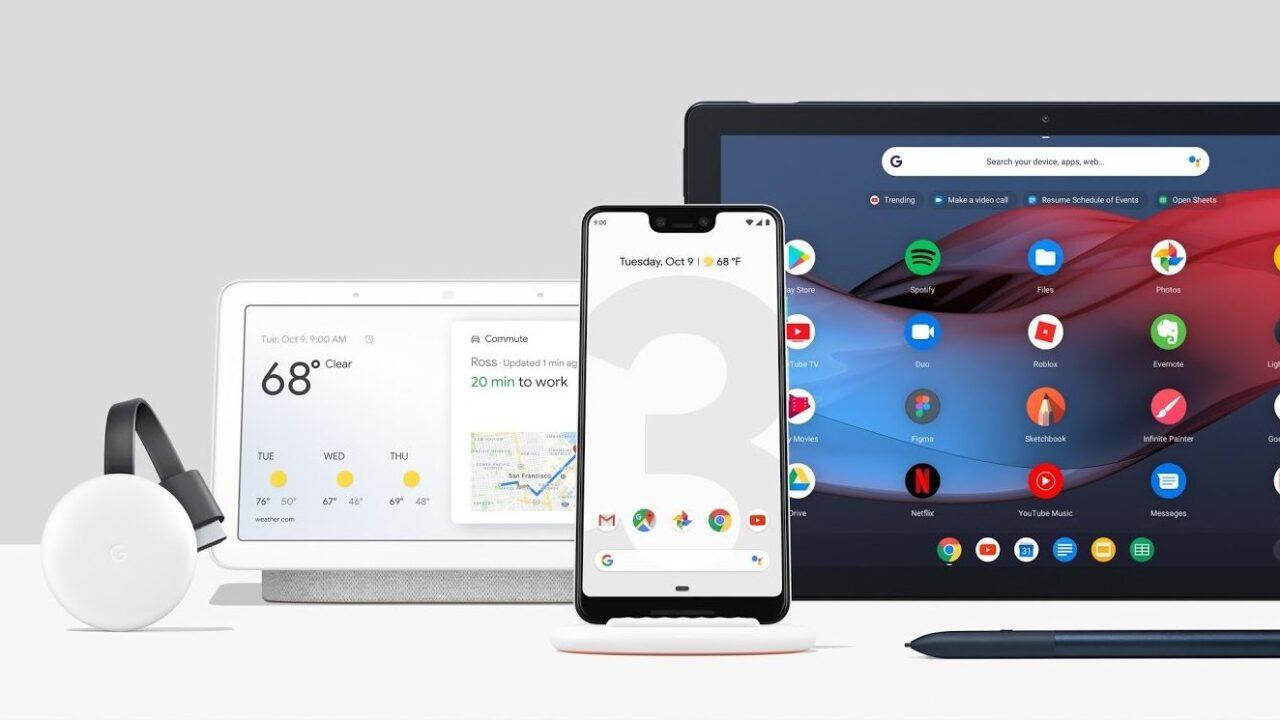 Googles Neue: Pixel 3 (XL), Home Hub und Tablet Pixel Slate