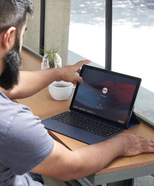 Als Laptop verwendbar - Pixel Slate. (Foto: Microsoft)