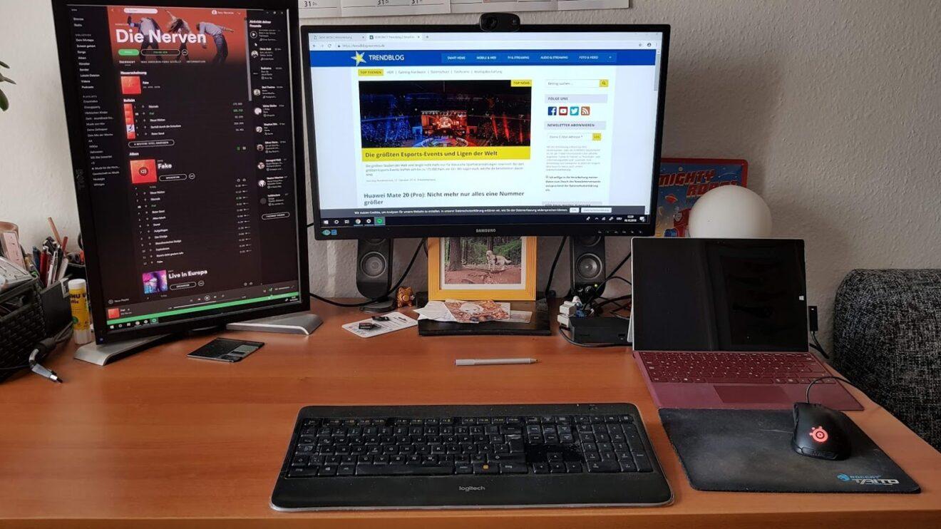Surface als Desktop-Ersatz: So wird ein Tablet zum stationären Rechner