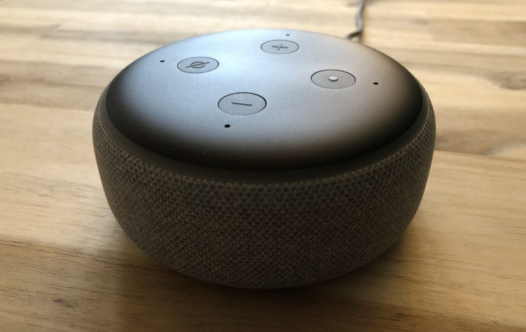 Der neue Amazon Echo Dot der 3. Generation