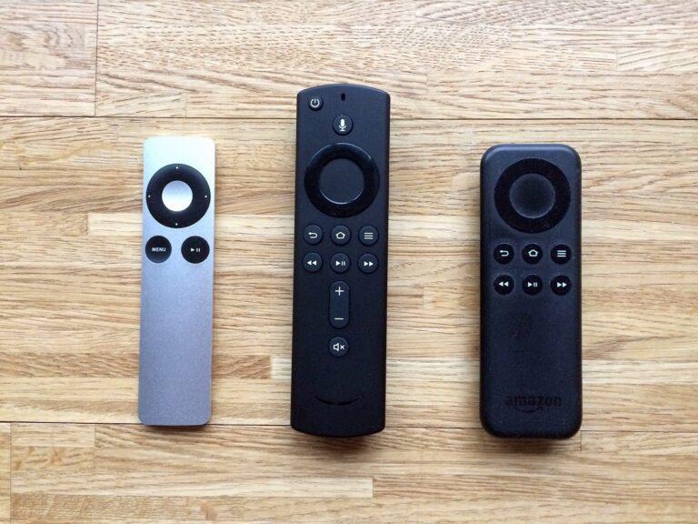 Amazon Fire TV Stick 4K Fernbedienung im Vergleich
