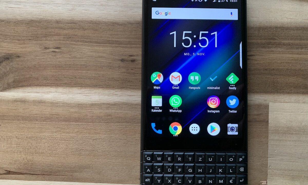 Blackberry Key2 LE im Test: Erstaunliches Revival