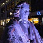 Beethoven-Figur aufgenommen mit dem Blackberry Key2 LE.